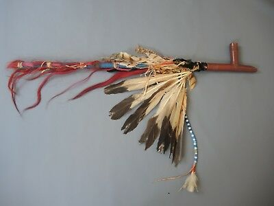 "Historic Ceremonial Calumet Pipe of Northern Cheyenne Chief ""Dull Knife"" ca.1840"