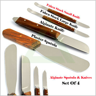 X5 Laboratory Mixing Wax Knife Tools Dental Lab Technicians Alginate Spatulas CE