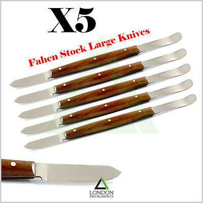 Fahen Stock Knife Laboratory Tools Dental Wax Knife Mixing Plaster Alginate CE
