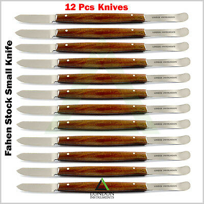 X 12 Dental Fahen Stock Small Knives Mixing Spatulas Carvers Wax & Modelling Lab