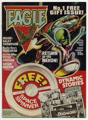 Eagle issue 1 (27th Mar 1982) good as new but no free gift