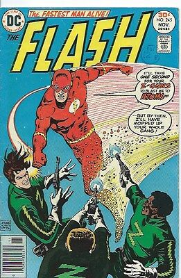 FLASH 245 ( DC, 1976 ) FN - condition. FIRST FLORONIC MAN
