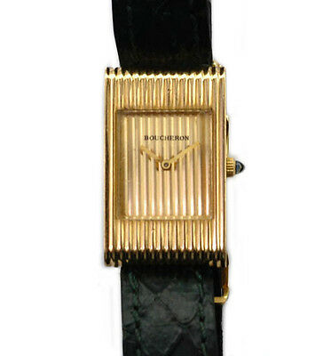 Boucheron Paris Reflet Collection Ladies Vintage Watch Original Strap and Buckle