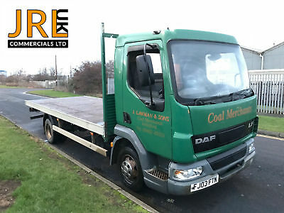 DAF LF 45 - Manual Gearbox - Steel Suspension - 17Ft Flat Bed Body -