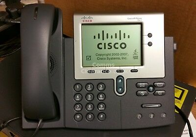 Cisco CP-7941G IP VoIP Ethernet Unified Phone (Charcoal)