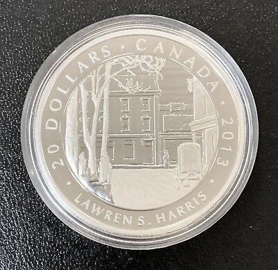 """Canada 2013 $20 pure silver group of 7 series """"Harris""""  Proof. 1197"""