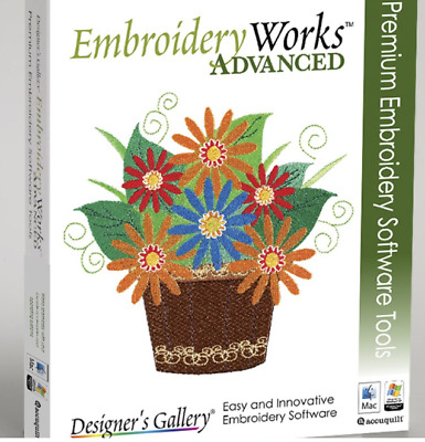 Designer's Gallery Embroidery Works ADVANCED Upgrade