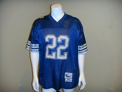 pretty nice ac2fd 3beea Men s Nfl Dallas Cowboys   22 Emmitt Smith Mitchell   Ness Throwback Jersey  52