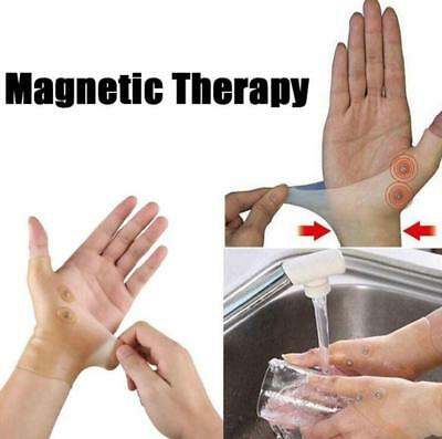 1PC Healthcare Magnetic Therapy Wrist Silicone Glove Support Hand Pain Relief