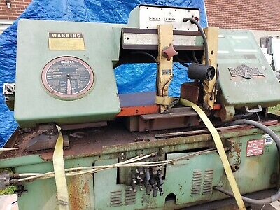Horizontal Band Saw DoAll Automatic with Mitering CT-1216A just removed