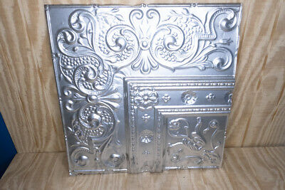 Antique Embossed Tin 24x24 Ceiling Tiles Lot of 6
