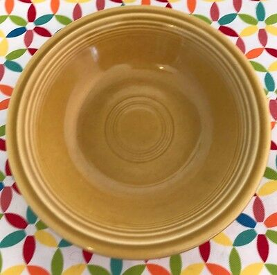 Vintage Fiesta Ironstone Antique Gold 5 1/2 inch Fruit Bowl Fiestaware 1970s
