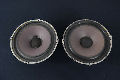 """Wharfedale 3DDC 8"""" Speakers 1970 - Made In England"""