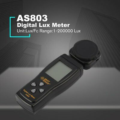 SMART SENSOR AS803 Spectrometer Digital Lux Meter Luminance Tester Light Meter W