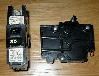 FEDERAL ELECTRIC CIRCUIT BREAKERS SINGLE POLE STABLOK 10A 30A 40A