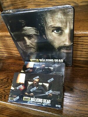 Two Cryptozoic Walking Dead Season 3 Part 2 Trading Card HOBBY Boxes + M52 Album
