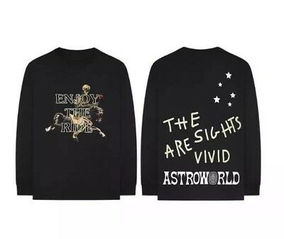 03bb95d05010 Travis Scott ASTROWORLD Enjoy The Ride L Glow In The Dark Wish You Were Here