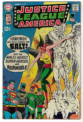 DC Comics JUSTICE LEAGUE OF AMERICA The World's Greatest Superheroes No 72 VG/F