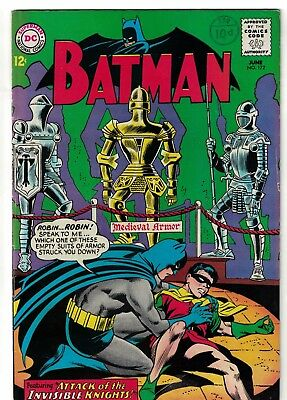 Dc Comics Batman 172 Fn+ 6.5 1965
