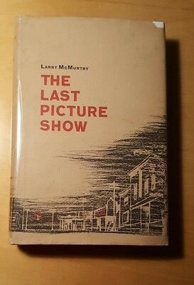 The Last Picture Show First Edition Larry McMurtry1966 First Printing Dial Press