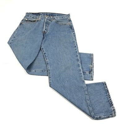 015ae41e04a LEVIS 501 MENS Jeans Red Tab Denim Button Fly Vintage 31 x 30 ...