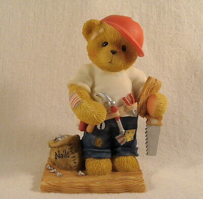 Cherished Teddies  ~  WOODY ... The Handyman  *  NEW From Our Retail Shop