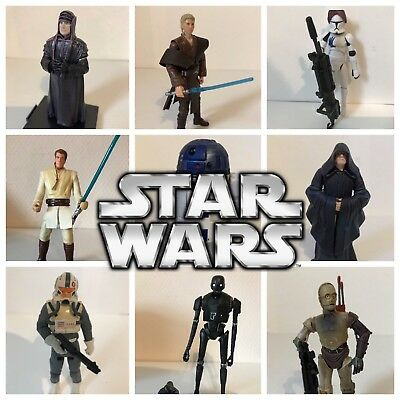 HASBRO Star Wars FIGURINES LOOSE A CHOISIR FIGURES TO CHOOSE 1999 - 2016