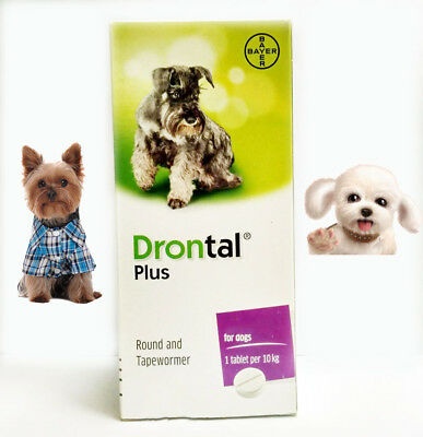 Drontal Plus Dog Genuine German Product Free Shipping Best Price 1 tablets