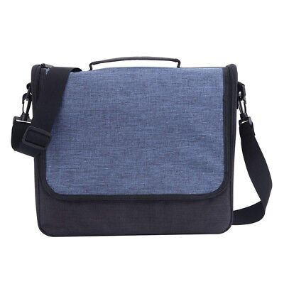 Travel bag Portable Protective Messenger Bag Shoulder Bag with Multiple Poc V6J4