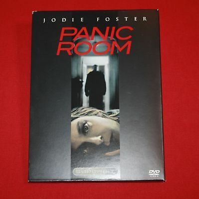 Panic Room (DVD, 2002, The Superbit Collection) Jodie Foster, Forest Whitaker