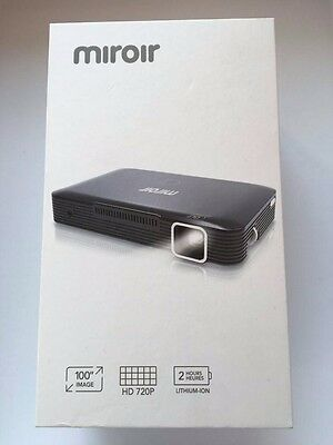 Miroir HD 720p DLP  Mini  Projector MP150A