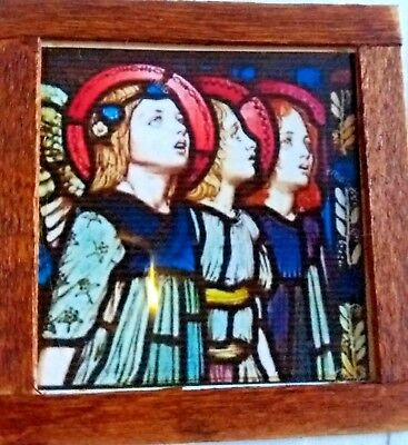 Dolls House Stained glass look Picture Angels