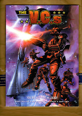 THE VCs YOU'RE HIT YOU'RE DEAD! Finley-Day McMahon Kennedy Leach 2000AD TPB VG