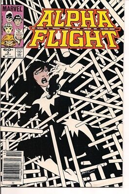 Alpha Flight Comic Book Lot by Marvel Comics (14 Different)