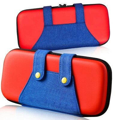 Nintendo Switch Deluxe Carrying Case Portable Protective Pouch Travel Bag