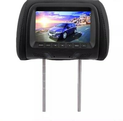 Headrest Monitor Black. 2 Headrest In Box.