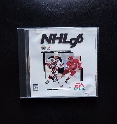 Nhl 96 Ea Sports Cd Rom In Case Computer Games Pc Christmas Fun