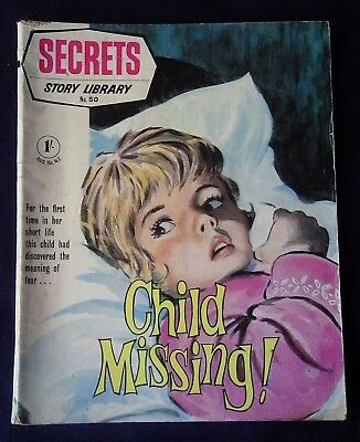 CHILD MISSING (Secrets Story Library 50) 1970