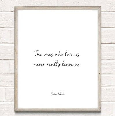 Harry Potter Sirius Black Typography Print Poster Unframed Home Quote Gift