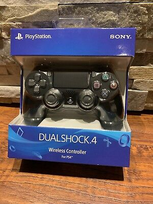 NEW Official Sony DualShock 4 Wireless Controller Jet Black For PS4