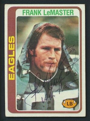 1978 Topps #87 Frank LeMaster Autograph Vintage Signed Kentucky Eagles
