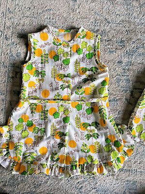 Yardbritches by Editex Girls Sleeveless Tunic Top & Shorts Vintage Outfit 6X