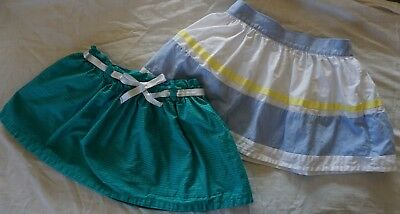 GYMBOREE LOT Sale Pocketful of Sunshine Seaside Stroll Line 2015 Skirts 5 5T