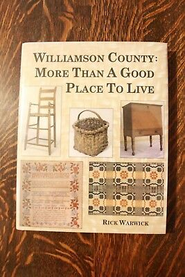 Williamson County, Tennessee - Antique Furniture & Crafts - By Warwick - New!!!