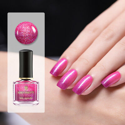 BORN PRETTY Rose Red Color-changing Nail Art Polish Peel Off Thermal Varnish