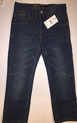 LEE Little Boys Skinny Stretch Denim Jeans Blue Size 6 New with Tag A