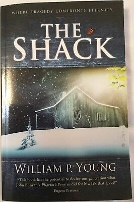 THE SHACK Paperback Where Tragedy Confronts Eternity by William P Young
