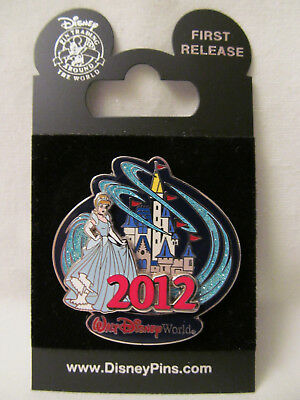 WDW~New 2012 Walt Disney World Cinderella Castle Logo w/Cinderella Pin # 88081