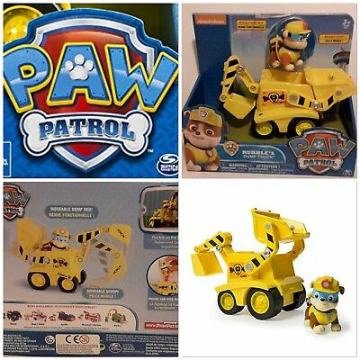 Paw Patrol  🐶 RUBBLE BAGGER NP 39,95€ 🐶 Fahrzeug Auto Figur 🐶 OVP Spin Master