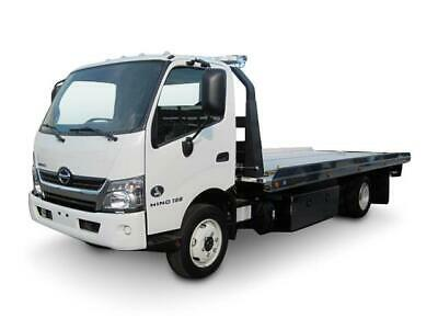 Hino tow truck Century Rollback flatbed car carrier wrecker dodge ford peterbilt